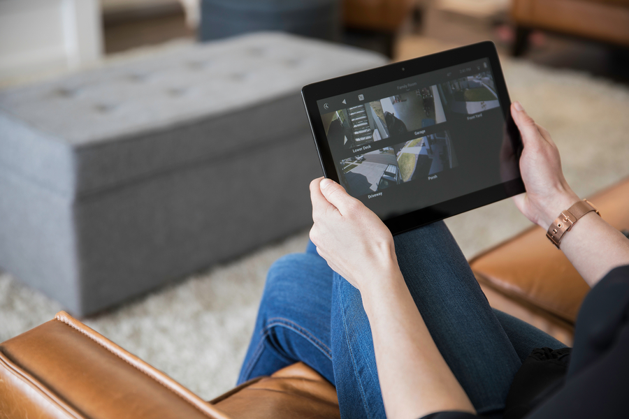 Gain Peace of Mind with Control4 Home Surveillance